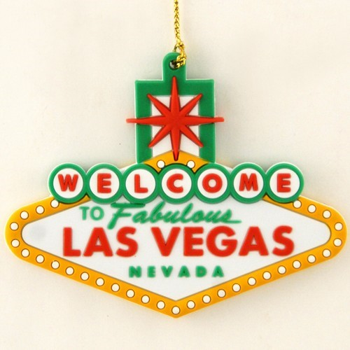 Smith Novelty | Las Vegas Souvenir Christmas Ornament