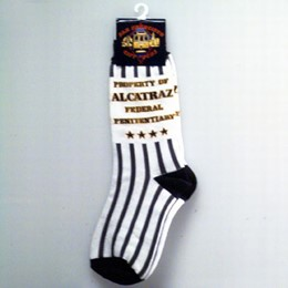 San Francisco Alcatraz 4 Star Small Socks (Size 7-9)