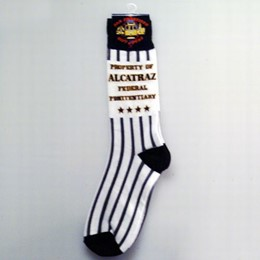 San Francisco Alcatraz 4 Star Large Socks (Size 11-13)