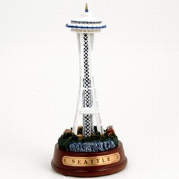 Seattle Space Needle Lit Model (6 inches)