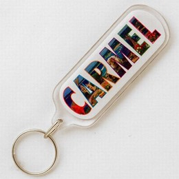 Carmel Greetings From Carmel Acrylic Keychain