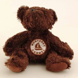 Monterey-Carmel Brown Plush Bear