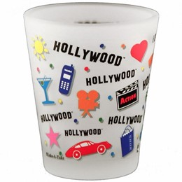 Hollywood Expressions Frosted Shotglass