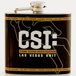 Las Vegas CSI 5oz. Flask