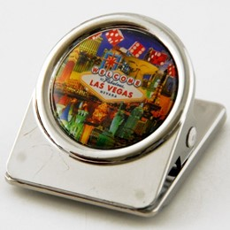 Las Vegas Dice Collage 30mm Clip Magnet