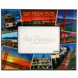 San Francisco Collage 4x6 Frame