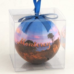 Monterey Cypress 80mm Ball Ornament-Boxed