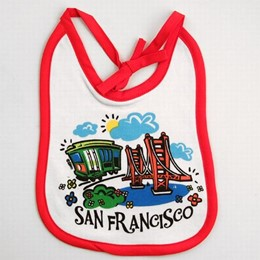 San Francisco Baby Bib