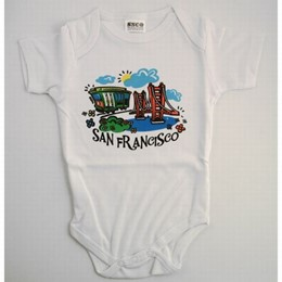 San Francisco Baby Romper (6 month old)
