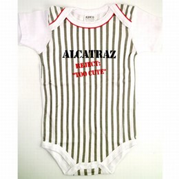 "Alcatraz ""Reject"" Baby Romper (6 month old)"