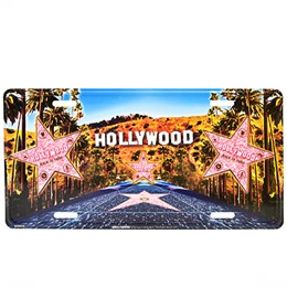 Hollywood Walk of Fame License Plate