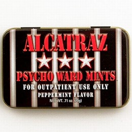 "San Francisco Alcatraz ""Psycho Ward"" Peppermints"