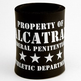 "San Francisco Alcatraz ""Athletic Department"" Can Cooler"