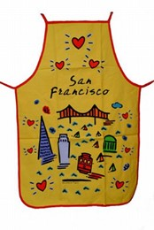 "San Francisco ""Subway"" Apron"