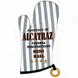 San Francisco Alcatraz Mess Hall Oven Mitt