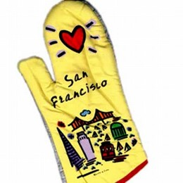 "San Francisco ""Subway"" Oven Mitt"