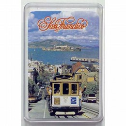 San Francisco Cable Car Hyde Street Playing Cards