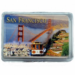 San Francisco Multi Scene Photo Playing Cards