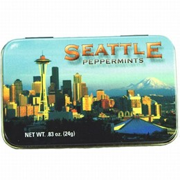 Seattle Photo Boxed Peppermints