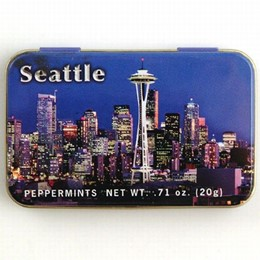 Seattle Night Boxed Peppermints