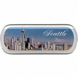 Seattle Day Photo Magnet