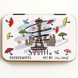 Seattle Umbrellas Boxed Peppermints