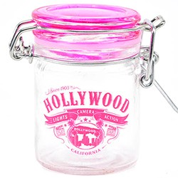 Hollywood Wild Glass Stash Jar