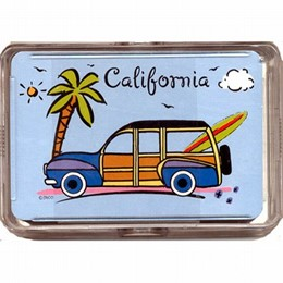 California Beach Woody Playing Cards