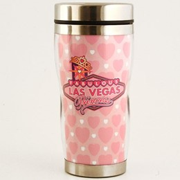 Las Vegas Princess EZ Grip Tumbler Travel Mug