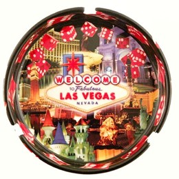 "Las Vegas Dice Collage 5"" Ashtray"