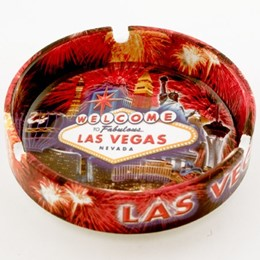 "Las Vegas Fireworks Collage 5"" Ashtray"