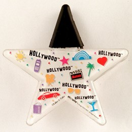 Hollywood Expressions Starshape Acrylic Clip Magnet