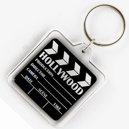 Hollywood Acrylic Keychain