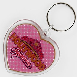 Hollywood Acrylic Princess Keychain
