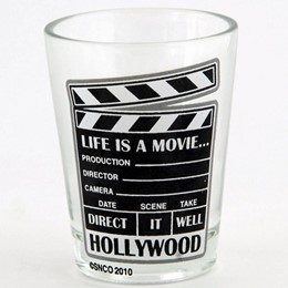 Hollywood Clear Shotglass