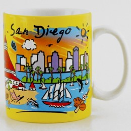 San Diego Subway 11 oz Mug