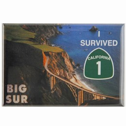Big Sur Survived HWY 1 Photo Magnet