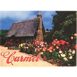 Carmel Cottage Photo Magnet