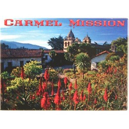 Carmel Mission Garden Photo