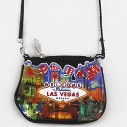 Las Vegas Dice Collage Small Purse