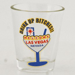 Las Vegas Drink Up Shotglass