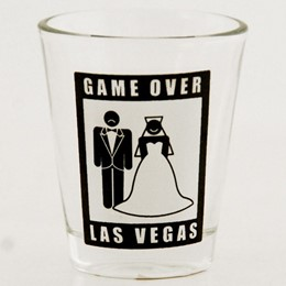 Las Vegas Game Over Shotglass