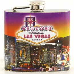 Las Vegas Sunset 5 oz. Flask