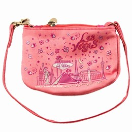 Las Vegas Easy Going Small Nylon Purse