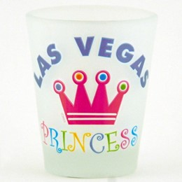 Las Vegas Princess Frosted Promo-Shotglass
