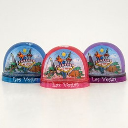 Las Vegas Sign/Collage Small Snowglobe (Each)
