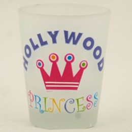 Hollywood Princess Frosted Promo-Shotglass
