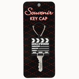 Hollywood Clapper PVC Key Cover Keychain