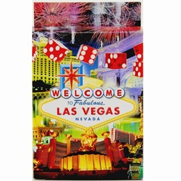 Las Vegas Dice Collage Playcards-Paper