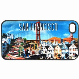 San Francisco Collage Case For iPhone4